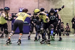 Highland Rampage GRD Cannie Gingers vs. NTRG 21 February 2015