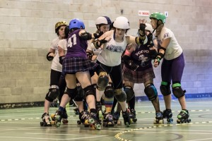 Voodoo Roller Dollies vs. Preston Roller Girls 26 July 2014
