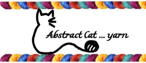 Picture of Abstract Cat yarn label